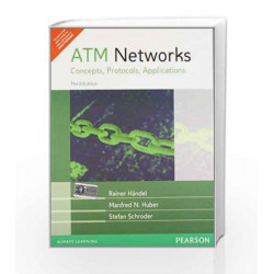 ATM Networks: Concepts, Protocols, Applications, 3e by HANDEL Book-9788177585292