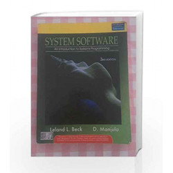 System Software: An Introduction to Systems Programming, 3e by BECK Book-9788177585551