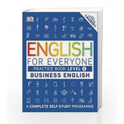English for Everyone Business English Level 1 Practice Book by DK Book-9780241253724