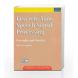Discrete-Time Speech Signal Processing: Principles and Practice, 1e by QUATIERI Book-9788177587463