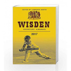 Wisden Cricketers' Almanack 2017 by Lawrence Booth Book-9781472935199