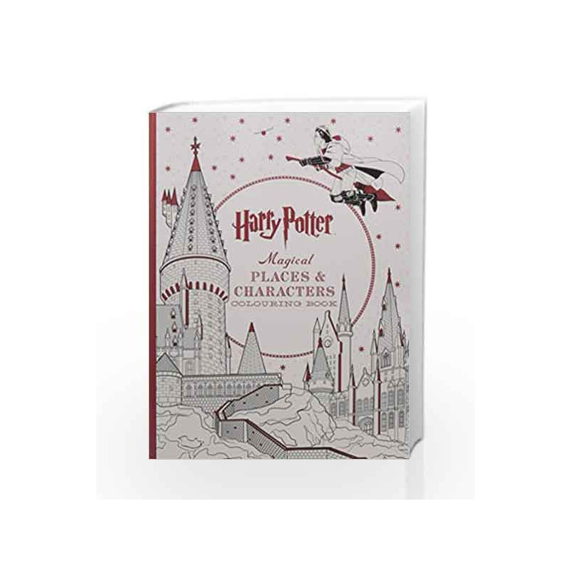 Harry Potter Magical Places Characters Coloring Book By Simon Schuster 9781608879441