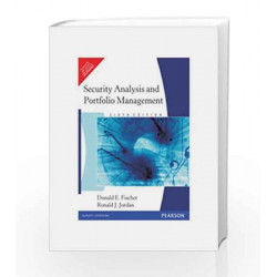 Security Analysis and Portfolio Management, 6e by FISCHER Book-9788177588118
