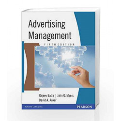 Advertising Management, 5e by BATRA Book-9788177588507