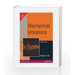 Mechanical Vibrations, 4e by RAO Book-9788177588743