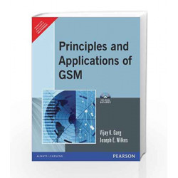 Principles and Applications of GSM, 1e by GARG Book-9788177588798