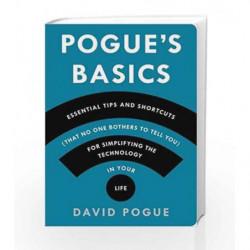 Pogue's Basics: Tech by David Pogue Book-9781250053480