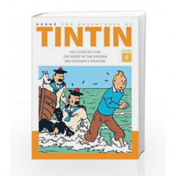 The Adventures of Tintin Volume 4 by Herge Book-9781405282789