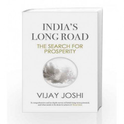 India's Long Road: The Search for Prosperity by Vijay Joshi Book-9780670086825