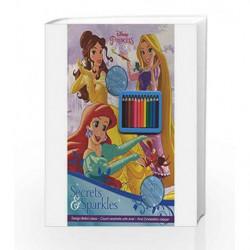 Disney Princess Secrets & Sparkles by Disney Book-9781474839495