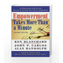 Empowerment Takes More Than a Minute by Ken Blanchard Book-9781626569911
