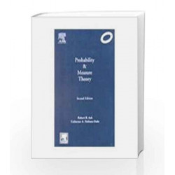 Probability and Measure Theory by Ash Book-9788181477163