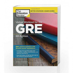 Verbal Workout for the GRE (Graduate School Test Preparation) by PRINCETON REVIEW Book-9780451487858