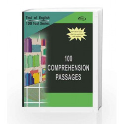 100 Comprehension Passages by Vijay Nicole Book-9788182090064