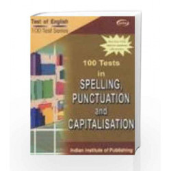 100 Tests In Spelling, Punctuation And Capitalisation by Vij Nic Book-9788182090309