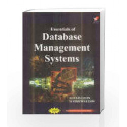 Essentials of Database Management Systems by Alexis Leon Book-9788182091023