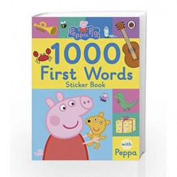 Peppa Pig: 1000 First Words Sticker Book by LADYBIRD Book-9780241294642