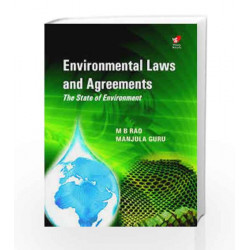 Environmental Laws and Agreements by Dr M. B. Rao Book-9788182092310