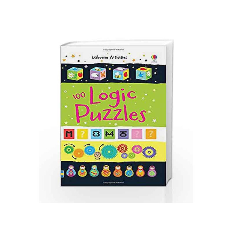 100 Logic Puzzles (Activity and Puzzle Books) by Sarah Khan and Simon  Tudhope-Buy Online 100 Logic Puzzles (Activity and Puzzle Books) Book at  Best