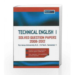 TECHNICAL ENGLISH I SOLVED PAPERS 2008-12 (PB)....Maven by Dasgupta Book-9788182093331