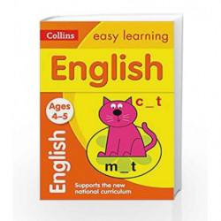 English Ages 4-5: Collins Easy Learning (Collins Easy Learning Preschool) by HARPER COLLINS Book-9780008134204