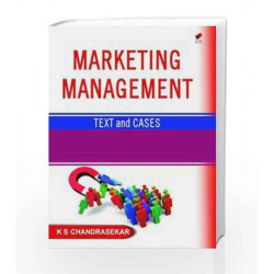 Marketing Management: Text and Cases by Chandrasekar Book-9788182093843
