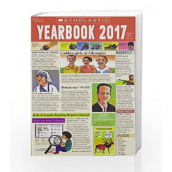 Year Book 2017 by Scholastic India Pvt Ltd Book-9789386106704