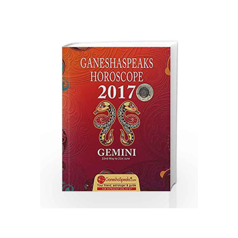 GEMINI - ENG - 2017 by GANESHASPEAKS-Buy Online GEMINI - ENG - 2017 Book at  Best Price in India:Madrasshoppe com