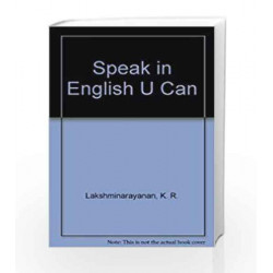 Speak in English U Can by K. R. Lakshminarayanan Book-9788183710244