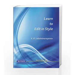 Learn to Edit in Style by LAKSHMINARAYANAN Book-9788183712781