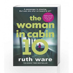 The Woman in Cabin 10 by Ruth Ware Book-9780099598237