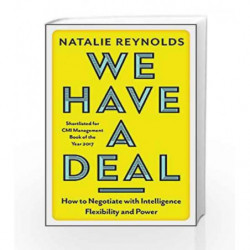 We Have a Deal by Natalie Reynolds Book-9781785781650