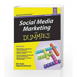 Social Media Marketing for Dummies by Shiv Singh, Stephanie Diamond Book-9788126538713