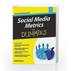 Social Media Metrics for Dummies by Leslie Poston Book-9788126538720