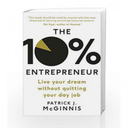 The 10% Entrepreneur by McGinnis, Patrick J. Book-9780241198797