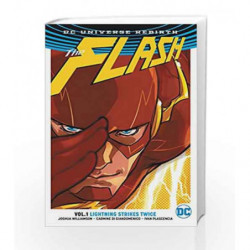 The Flash Vol. 1: Lightning Strikes Twice (Rebirth) by Joshua Williamson Book-9781401267841