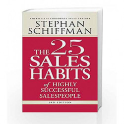 25 Sales Habits of Highly Successful Salespeople by Stephan Schiffman Book-9781598697575