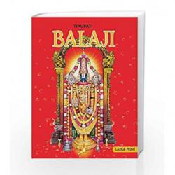 Large Print: Tirupati Balaji by Sunita Pant Bansal Book-9788187108412
