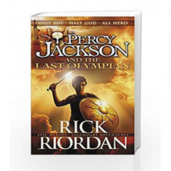 Percy Jackson and the Last Olympian (Book 5) by Rick Riordan Book-9780141346885