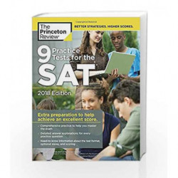 9 Practice Tests for the SAT (College Test Preparation) by PRINCETON REVIEW Book-9780451487643