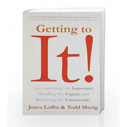 Getting to it by Loflin, Jones Book-9780062328823
