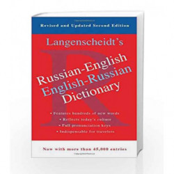 Russian-English Dictionary by Langenscheidt Book-9781439142370