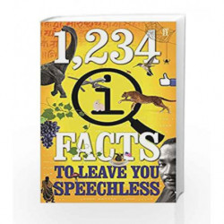 1,234 QI Facts to Leave You Speechless by John Lloyd Book-9780571329830