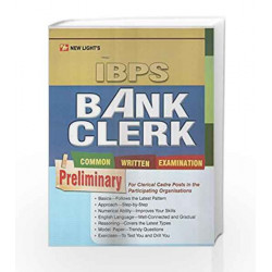 IBPS Bank Clerk ( Prel) by Ashok Mehta Book-9788189923501