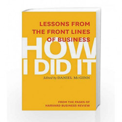 How I Did It by Mcginn Daniel Book-9781625272218