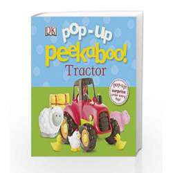 Pop-up Peekaboo Tractor by DK Book-9781409349617