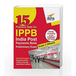 15 Practice Sets for Indian Post Payments Bank Scale - I Preliminary Exam by Disha Experts Book-9788193288993