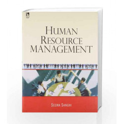 Human Resource Management by Seema Sanghi Book-9789325975613