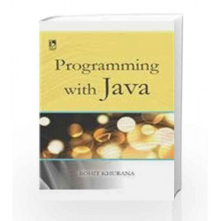Programming With Java by Rohit Khurana Book-9789325978393
