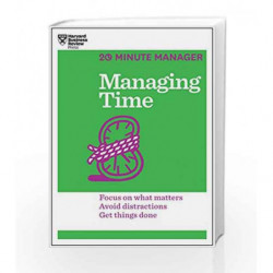 Managing Time (20-Minute Manager) by HARVARD BUSINESS REVIEW Book-9781625272249